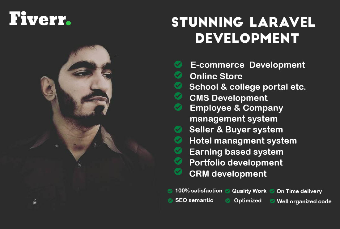I will develop an exclusive web application using laravel