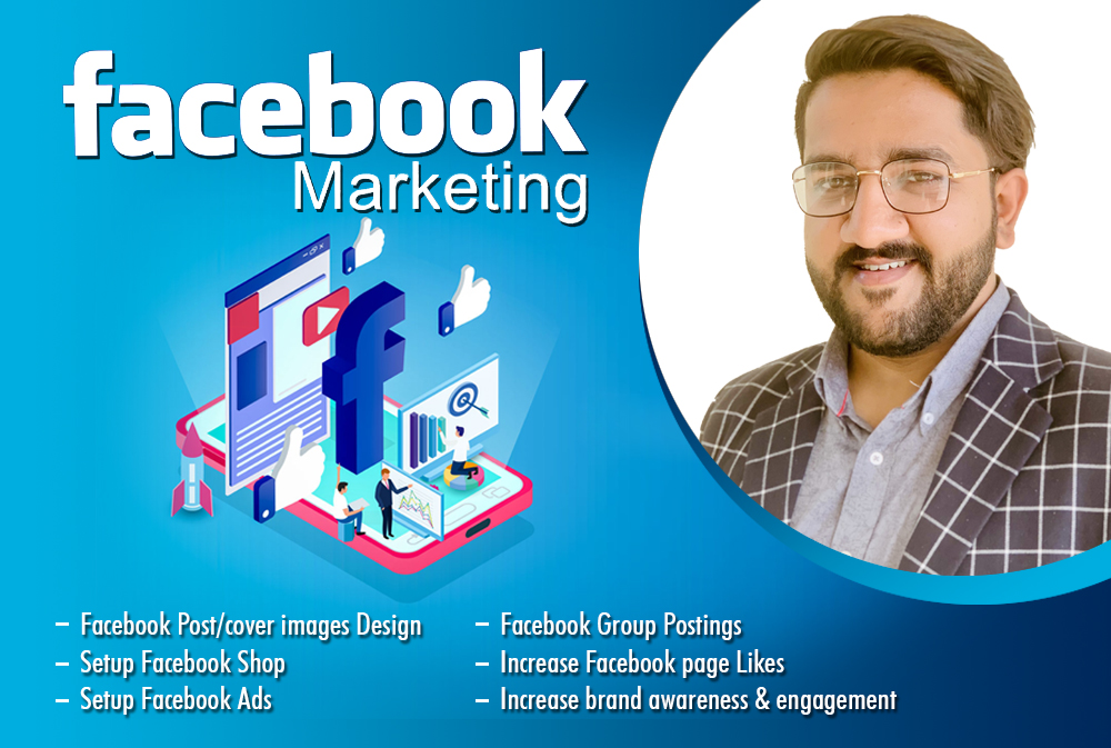 I will provide facebook promotion and posts design for your business