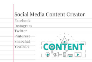 I will be your social media content creator