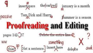 provide top notch proofreading and editing service
